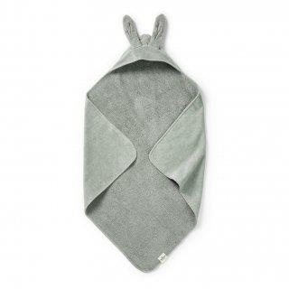 【Elodie Details】 エロディーディテールズ/フード付バスタオル/Mineral Green Bunny