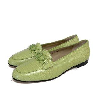 S.Ferragamo.LOAFERS.green 6