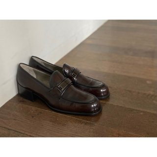 PRADA.loafers.darkbrown.38