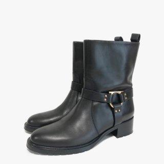 S.Ferragamo.boots.black 7 1/2
