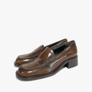 PRADA.loafers.brown.37