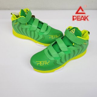 PEAK ピーク 安全靴 PEAKSAFETY BAS-4503 グリーンxイエロー