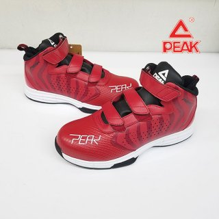 PEAK ピーク 安全靴 PEAKSAFETY BAS-4503 レッドxホワイト
