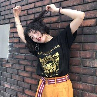 YOKO FUCHIGAMI 公式ファッショナブルTシャツ ヒョウ