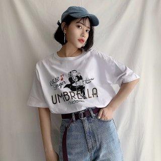 UMBRELLA ビッグシルエットTシャツ