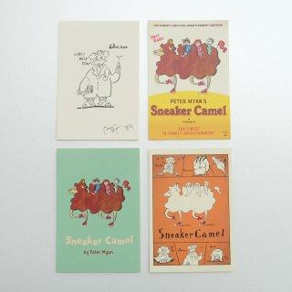 sneaker camel(らくだのラディ)ポストカードセット