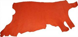オイルレザー 赤 半裁サイズ