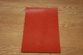 オイルレザー 赤 A4サイズ