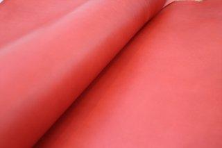本ヌメ革 赤 A3サイズ