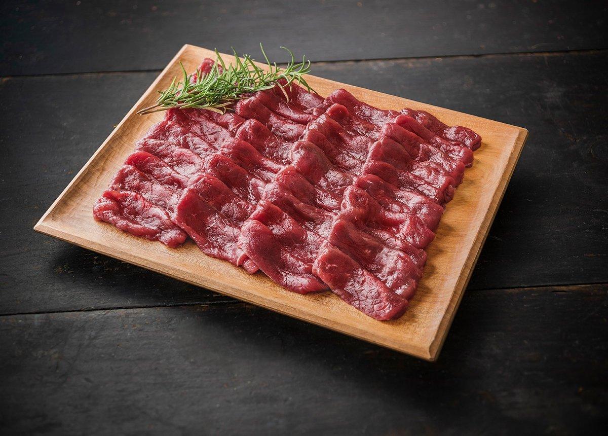 森のジビエ 鹿肉 モモスライス しゃぶしゃぶ用 600g
