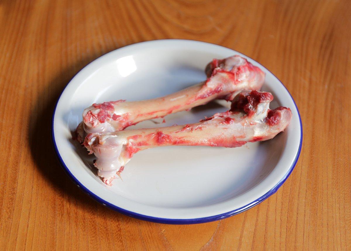 森のジビエ 鹿肉 ペット用 鹿骨2本セット