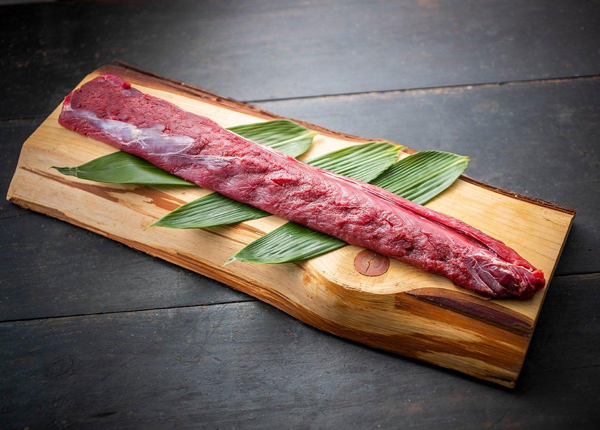 森のジビエ 鹿肉 ロースブロック 1kg