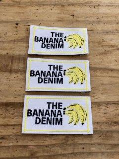 BANANA DENIM  オリジナル刺繍ネーム 3枚セット