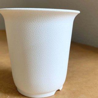 プラスチック鉢 Bo (ホワイト)