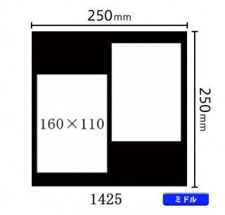 ミドルサイズ中枠 (160×110)×2 (角/右上斜め) 1425