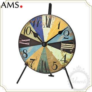 【予約販売中】AMSアンティーク調アメリカン風置き時計