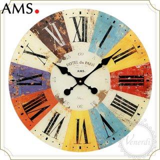 【予約販売中】AMSアンティークプレート掛け時計