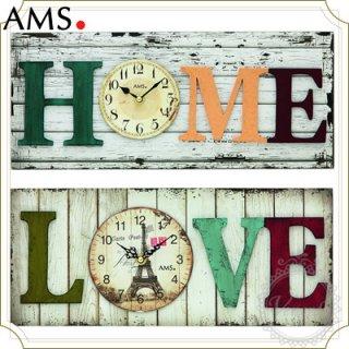 【予約販売中】AMSカントリー調掛時計
