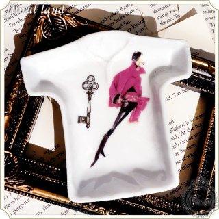 ポーセラーツ Tシャツ皿