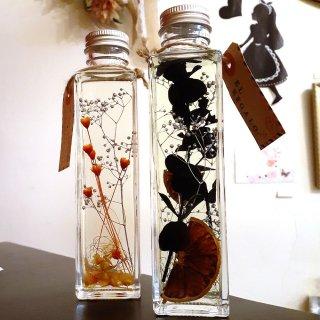 アロマハーバリウム ブラック