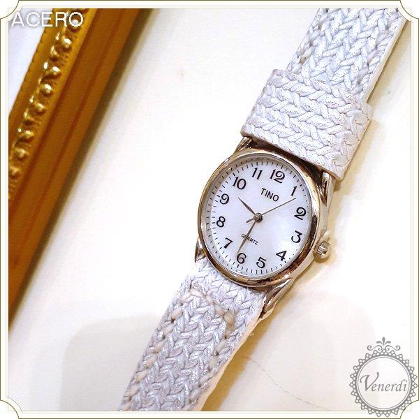 レザー腕時計