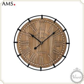 【予約販売中】AMSアイアンウッド掛け時計