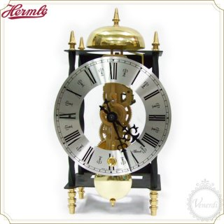 【予約販売中】Hermle機械式スケルトン アンティーク調置き時計