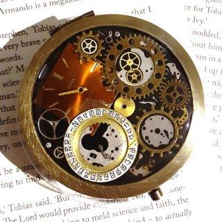 【スチームパンク展限定】時計盤の手鏡