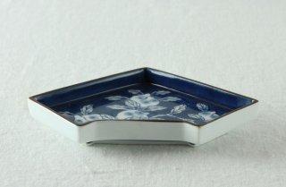 WP803 和皿/五角・扇形(青)