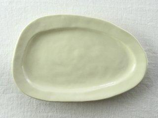 WP834 和皿/楕円(クリーム)
