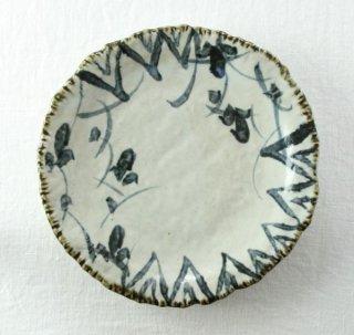 WP842 和皿/丸(白×青)