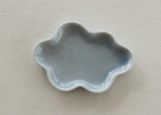 WP191 和風皿/雲(水色)