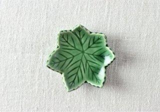 WP875 箸置き/紅葉(緑)