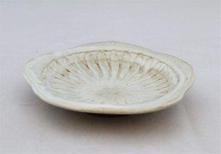 WP926 和皿/花型(白)・丹波焼