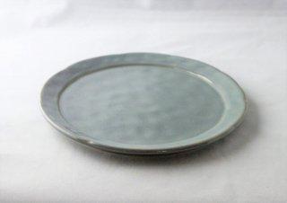 WP931 和皿/丸(水色)・丹波焼