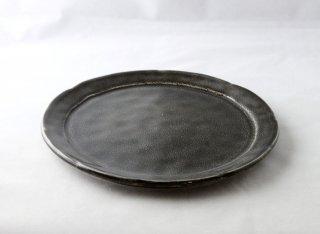 WP932 和皿/丸(黒)・丹波焼