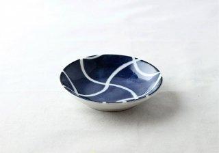 WP948 和皿/丸(白×青)