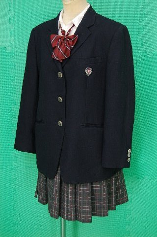 清水高校 冬服