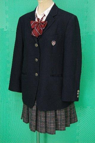 制服図鑑(買取実績) 清水高校 冬服