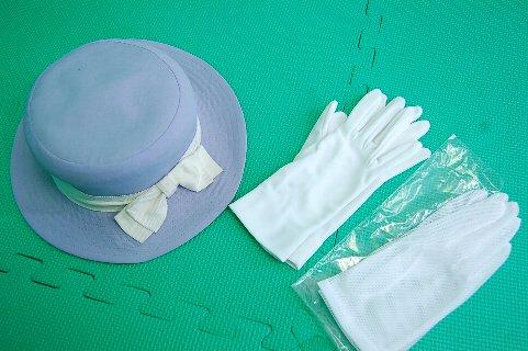 制服図鑑(買取実績) 阪急観光バスガイド 制帽 手袋