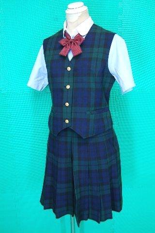 制服図鑑(買取実績) とわの森三愛高校 夏服