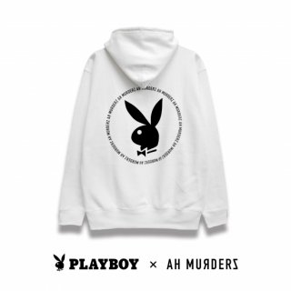 "AH MURDERZ × PLAYBOY "" Rabbit Head "" Hoodie"