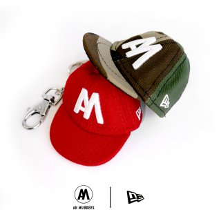 "AH MURDERZ × NEWERA "" AM "" CAP KEYCHAIN - 2nd -"