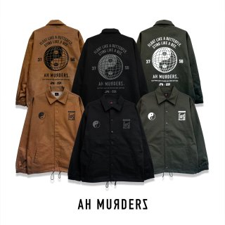 "AH MURDERZ "" YinYang "" Coach jacket"