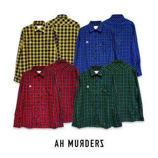 "AH MURDERZ "" Checked Shirts """