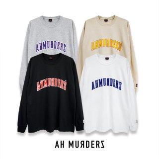 "AH MURDERZ "" ARC LOGO "" L/S T-shirts"