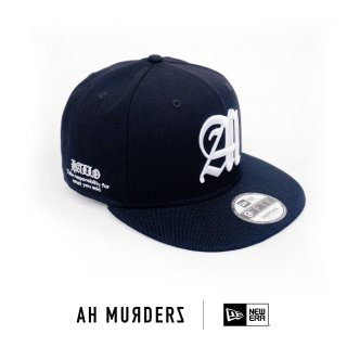"AH MURDERZ × NEWERA "" Responsibility "" 9FIFTY - limited 100 -"
