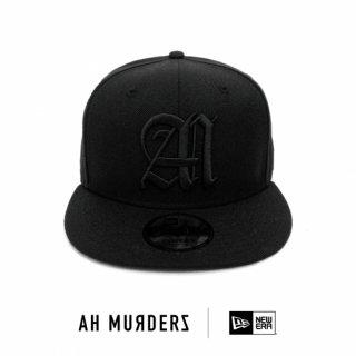 "AH MURDERZ × NEWERA "" Responsibility "" 9FIFTY - BLACK - limited 100"