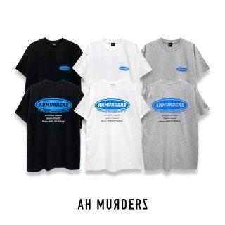 """AH MURDERZ """" DFED """" T-shirts - BLUE -"""