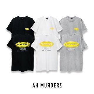 "AH MURDERZ "" DFED "" T-shirts - YELLOW -"